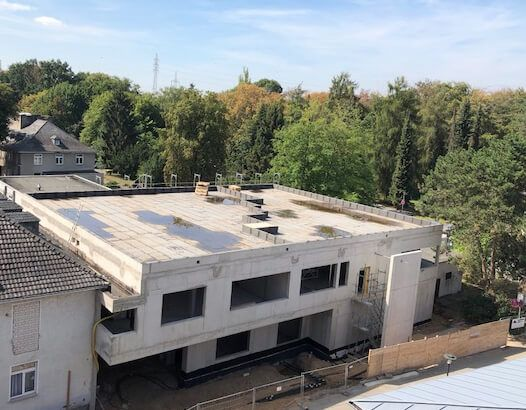 Umbau eines kardiologischen Krankenhaus (Zentrum Köln-Merheim)