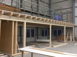 Neubau einer Halle (Bült 52, 48619 Heek)