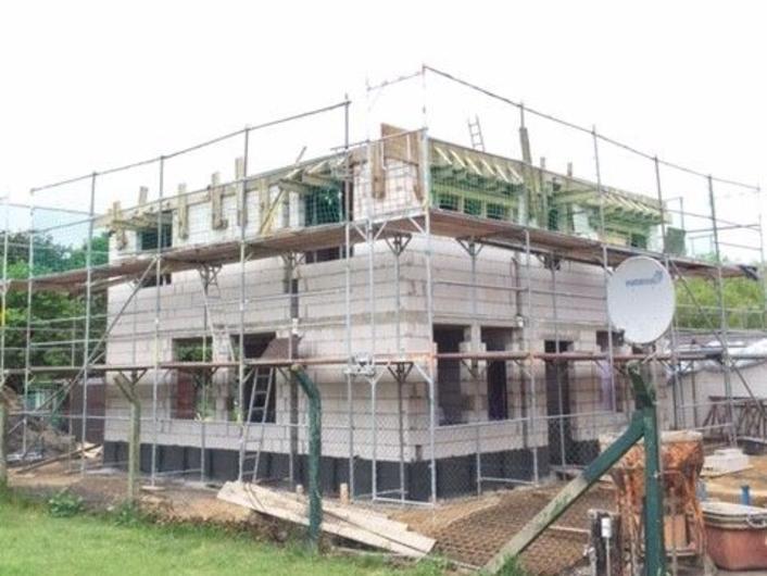 Neubau eines Einfamilienhauses mit Carport in Heek