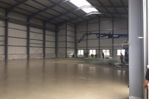 Neubau einer Industriehalle in Heek